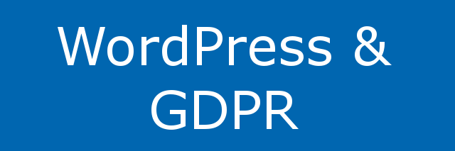 WordPress makes GDPR easier